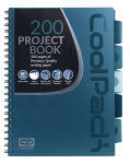 Kołobrulion kołozeszyt A4 200 stron TURKUSOWY CoolPack (93989CP)
