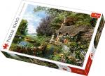 TREFL Puzzle 1000 el. UROCZY ZAKĄTEK NA WSI (10297)