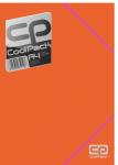 Teczka na dokumenty A4 CoolPack POMARAŃCZOWA NEON (52139)
