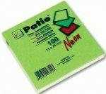 Karteczki samoprzylepne Notes Patio, ZIELONE (13079PTR)