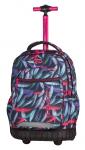 Plecak szkolny młodzieżowy na kółkach COOLPACK SWIFT w kolorowe pióropusze, PLUMES 964 (70898)