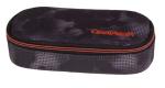 Piórnik szkolny COOLPACK CAMPUS czarny z pomarańczowymi dodatkami, MISTY ORANGE 959 (70690)