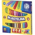 Plastelina 24 kolory  ASTRA (303110001)