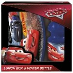 Zestaw bidon i śniadaniówka w kartoniku CARS Auta (ZSBCA44)