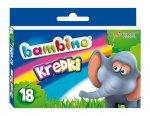 Kredki BAMBINO 18 kolorów (00201)