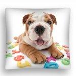 Poszewka na poduszkę 3D THE DOG 40 x 40 cm (DOG06MF)