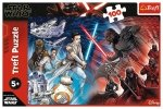 TREFL Puzzle 100 el. Star Wars, Jasna vs ciemna strona mocy (16367)