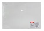 Teczka koperta transparentna na dokumenty A4 PATIO  biała (PAT3133A/N/13)