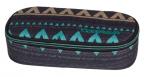 Piórnik szkolny COOLPACK CAMPUS w etniczne wzory, EMERALD ETHNIC 933 (70003)