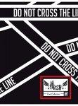 Zeszyt A5 60 kartek w kratkę HASH  DO NOT CROSS THE LINE HS-140 (102019029)