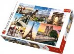 TREFL Puzzle 3000 el. Magia Paryża - Kolaż (33065)