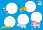 Plan lekcji A4 B&B Kids ze zwierzątkami (39372)