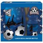 Zestaw bidon i śniadaniówka w kartoniku FOOTBALL Piłka nożna (ZSBPI15)