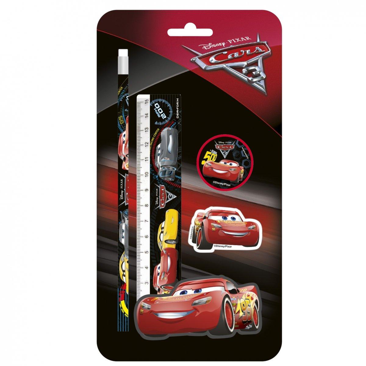 507be62ce0410 Zestaw 4 przyborów szkolnych AUTA CARS 3 (ZPS4CA42) | plecaki ...