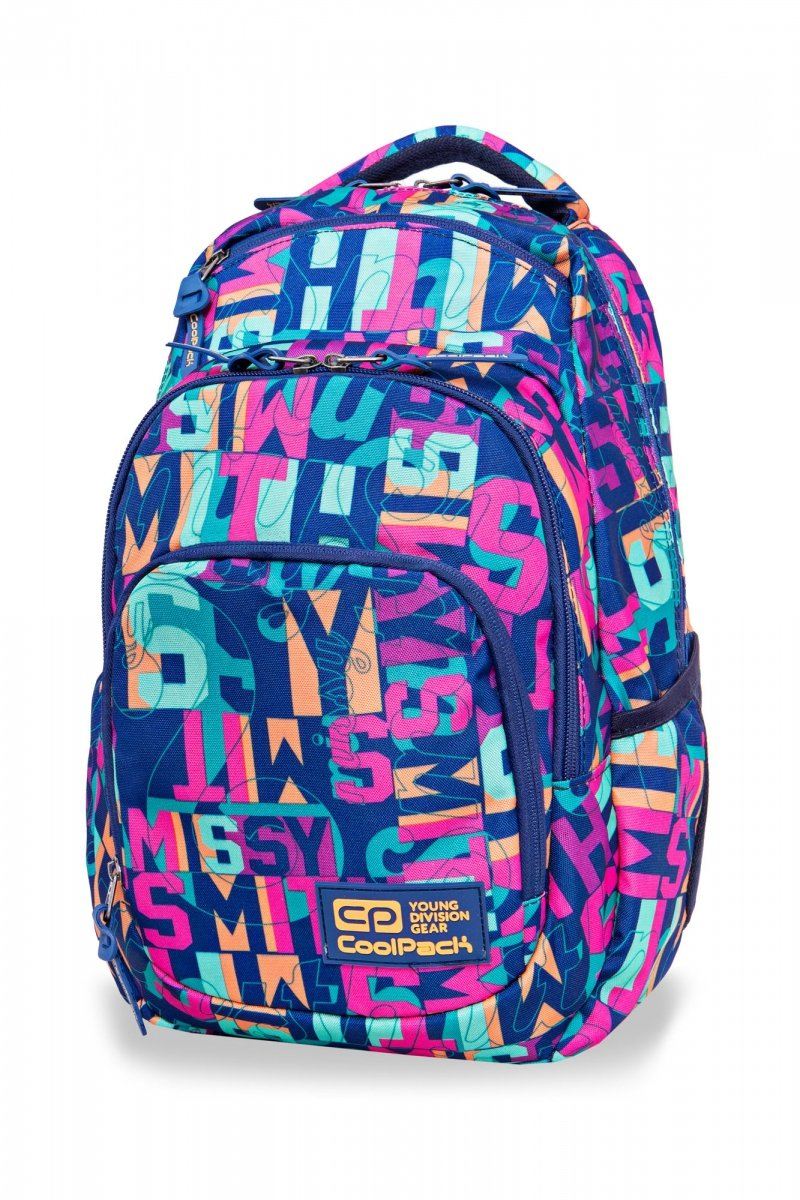 eebd4b8e689ee Plecak CoolPack VANCE w kolorowe napisy