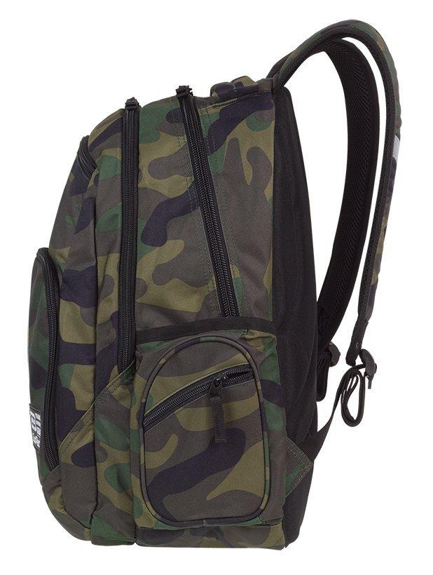 62f333286cf53 Plecak szkolny młodzieżowy COOLPACK BREAK 2 klasyczne moro ...