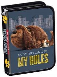 Piórnik szkolny bez wyposażenia THE SECRET LIFE OF PETS, Sekretne życie zwierzaków domowych (70994)