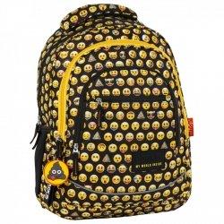 Plecak szkolny młodzieżowy BackUP Emoji EMOTIKONY (PLB2XEM86)