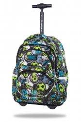 Plecak CoolPack STARR 27 L na kółkach piłka nożna, FOOTBALL (C35230)