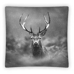 Poszewka na poduszkę 3D JELEŃ 40 x 40 cm (PS0009)
