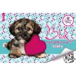 Blok rysunkowy A4 THE SWEET PETS Piesek (78326)
