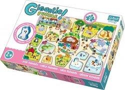 TREFL Gigantic puzzle 12 el. ZOO (90756)