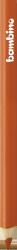 Kredka kredki BAMBINO w oprawie drewnianej POMARAŃCZOWA (03622)