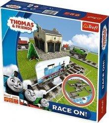 TREFL Gra planszowa Race on! Tomek i przyjaciele (01607)