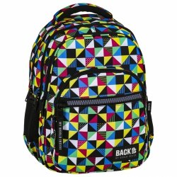 ZESTAW 3 el. Plecak szkolny młodzieżowy BackUP KALEJDOSKOP (PLB2M34SET3CZ)