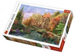 TREFL Puzzle 1500 el. Chatka nad jeziorem (26136)