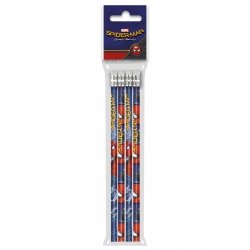 Ołówek z gumką Spiderman Homecoming 4szt. (OG4SH10)