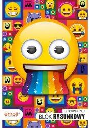 Blok rysunkowy A4 Emoji EMOTIKONY (42519)