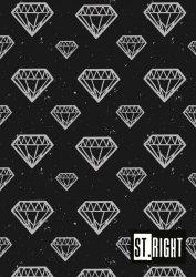 Zeszyt A4 60 kartek w linię DIAMONDS (05138)
