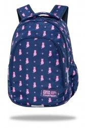 Plecak wczesnoszkolny CoolPack PRIME 23 L kotki, NAVY KITTY (C25240)