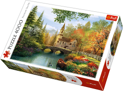 TREFL Puzzle 4000 el. Jesienna Nostalgia (45000)