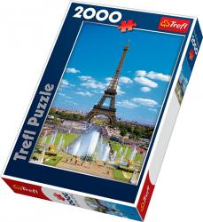 TREFL Puzzle 2000 el. Wieża Eiffla (27051)