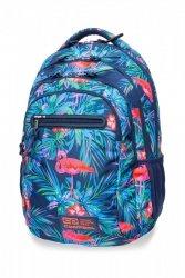 Plecak CoolPack COLLEGE TECH w różowe flamingi, PINK FLAMINGO (B36126)