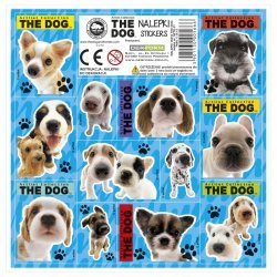 Nalepki ozdobne THE DOG (NZTD)