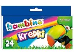 Kredki BAMBINO 24 kolory (00218)
