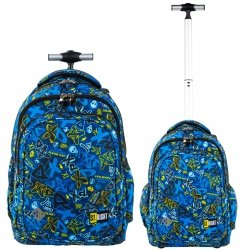 Plecak szkolny młodzieżowy na kółkach ST.RIGHT  XD ART TB1 (27026)