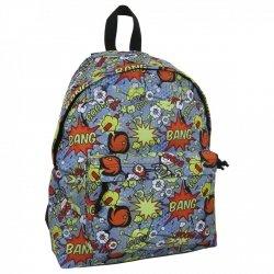 Plecak szkolny młodzieżowy FULL PRINT COMIC WORLD (PLM16J12)