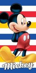 Ręcznik plażowy kąpielowy 70x140 Myszka Mickey (MM06)