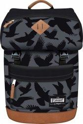Plecak miejski ST.RIGHT młodzieżowy orły na szarym tle, EAGLE BP45 (91588)