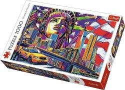 TREFL Puzzle 1000 el. Kolory Nowego Jorku (10523)