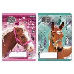 Zeszyt w kratkę 16 kartek Koń NICE AND PRETTY (79958)