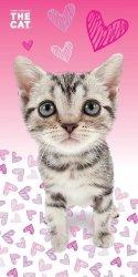 Ręcznik plażowy kąpielowy THE CAT (CAT03BT)