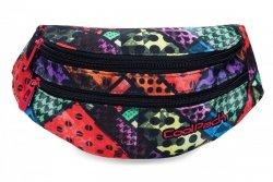 SASZETKA NERKA CoolPack na pas torba MADISON w kolorowe bloki, BLOX (B64014)