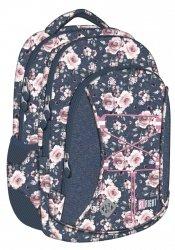 Plecak młodzieżowy ST.RIGHT w róże, ROSES BP32 (22618)