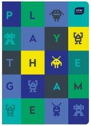 Zeszyt A5 w kolorową linię 32 kartki CHŁOPIĘCY, INTERDRUK (00136)