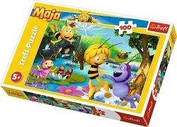 TREFL Puzzle 100 el. Pszczółka Maja i przyjaciele (16361)